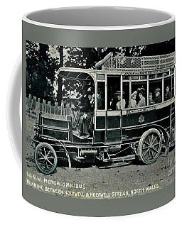 Coffee Mug featuring the photograph London Northwestern Railway Company Motor Omnibus 1907 by Peter Gumaer Ogden