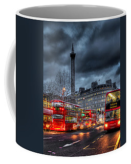 London Red Buses Coffee Mug