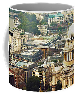 London Rooftops Coffee Mug by Judi Saunders
