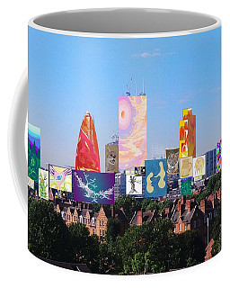 London Skyline Collage 1 Coffee Mug