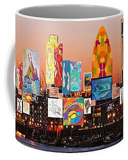 London Skyline Collage 2 Coffee Mug