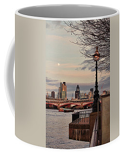 London Skyline From The South Bank Coffee Mug