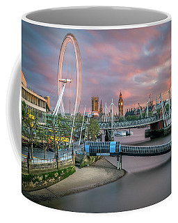 London Skyline Sunset Coffee Mug
