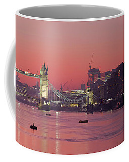 London Thames Coffee Mug by Thomas M Pikolin