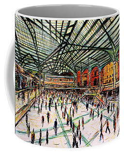 London Train Station Coffee Mug