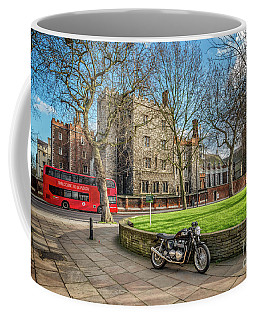 Coffee Mug featuring the photograph London Transport by Adrian Evans