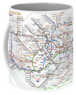 London Underground Map Coffee Mug