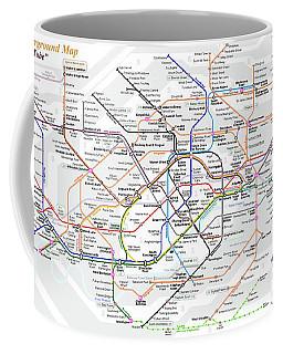 London Underground Map Coffee Mug