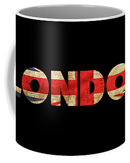 London Vintage British Flag Tee Coffee Mug