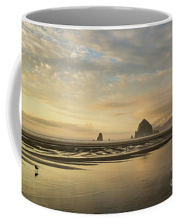 Sunset At Haystack Rock Coffee Mug