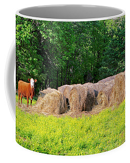 Lone Cow Guard, Smith Mountain Lake Coffee Mug