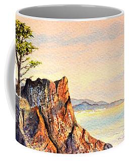 Lone Cypress Tree Pebble Beach Coffee Mug