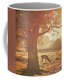 Coffee Mug featuring the photograph Lone Deer by Lyn Randle