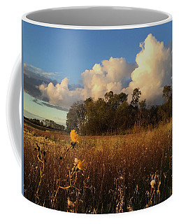 Lone Flower Coffee Mug