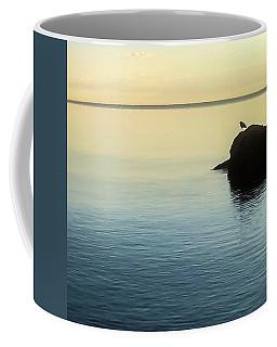 Lone Gull Coffee Mug