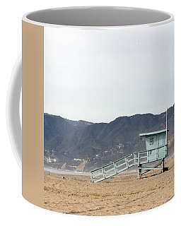 Lone Lifeguard Tower Coffee Mug