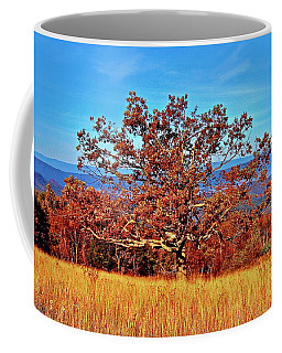 Lone Mountain Tree Coffee Mug