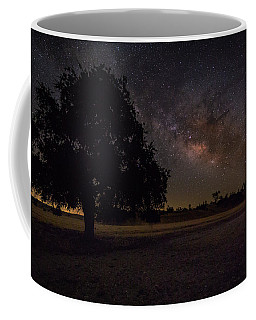 Lone Oak Under The Milky Way Coffee Mug