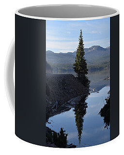 Lone Pine Reflection Chambers Lake Hwy 14 Co Coffee Mug