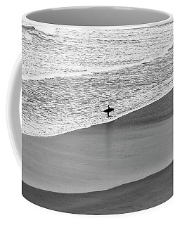 Lone Surfer Coffee Mug