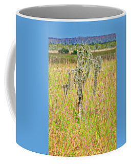 Coffee Mug featuring the photograph Lone Survivor by Andy Crawford