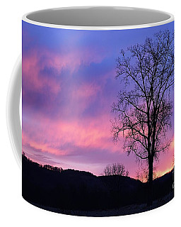 Lone Tree At Dawn Coffee Mug