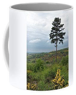 Coffee Mug featuring the photograph Lone Tree At Devils Punch Bowl by Michael Hope