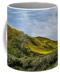 Lone Tree On The Plain Coffee Mug