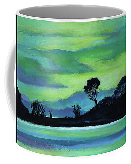Lone Tree On The Salish Sea Coffee Mug