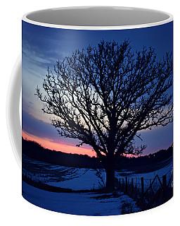 Lone Tree Road Coffee Mug by Kathy M Krause