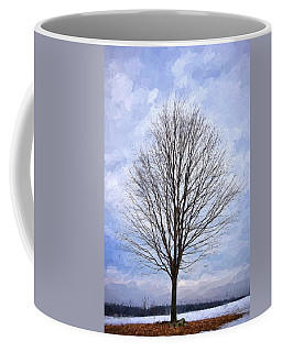 Lone Tree Coffee Mug by Tricia Marchlik