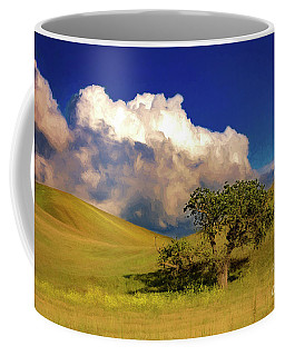 Lone Tree With Storm Clouds Coffee Mug