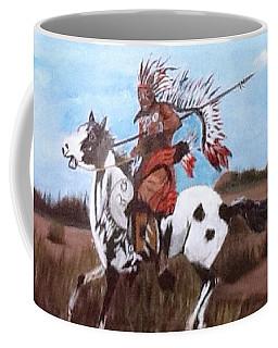 Lone Warrior Coffee Mug by Catherine Swerediuk
