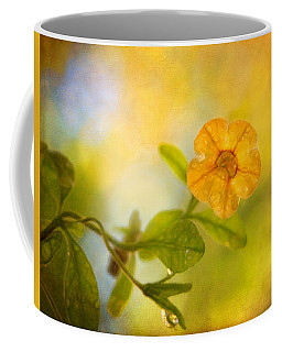 Lone Yellow Flower Coffee Mug