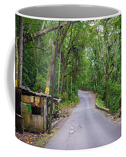 Lonely Country Road Coffee Mug