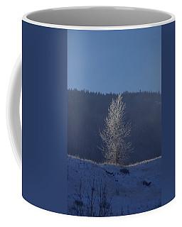 Lonely Frosty Tree Coffee Mug