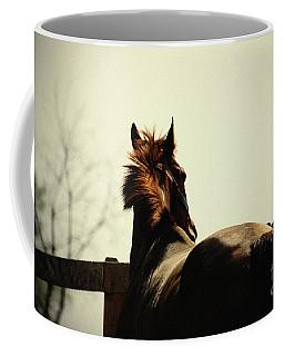 Lonely Horse Coffee Mug
