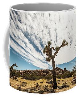 Lonely Joshua Tree Coffee Mug by Amyn Nasser
