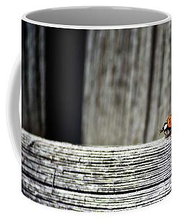 Lonely Ladybug Coffee Mug