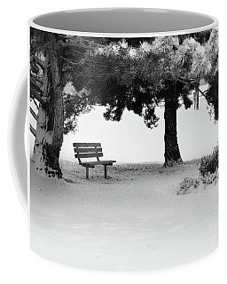 Lonely Park Bench Coffee Mug