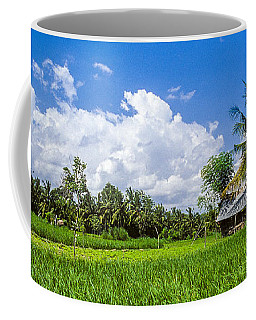 Lonely Rice Hut Coffee Mug