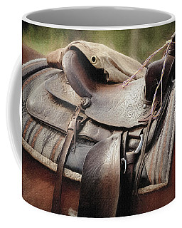 Lonely Saddle  Coffee Mug