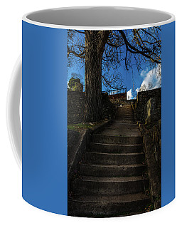 Lonely Soul Atop The Hill Coffee Mug