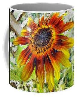 Lonely Sunflower Coffee Mug