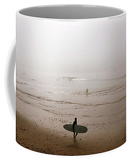 Lonely Surfer Coffee Mug