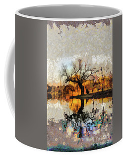 Lonely Tree And Its Thoughts Coffee Mug