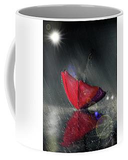 Lonely Umbrella Coffee Mug