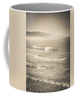 Lonely Winter Waves Coffee Mug