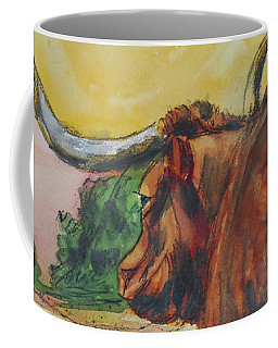 Lonesome Longhorn Coffee Mug