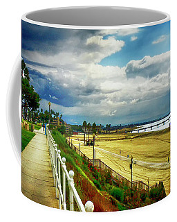 Coffee Mug featuring the photograph Long Beach Bluff Park by Joseph Hollingsworth